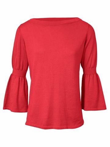 Пуловер с 3/4 рукавами