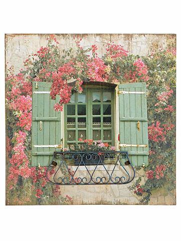 Картина окно