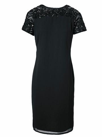 Коктейльное платье с с пайетками
