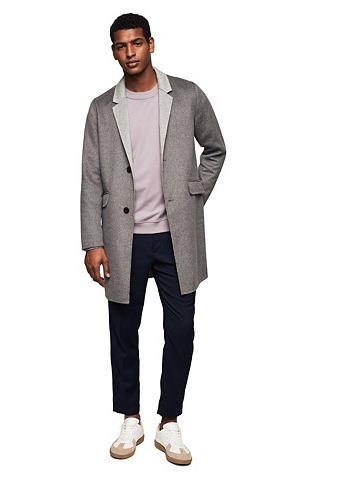 Пальто шерстяное с Revers