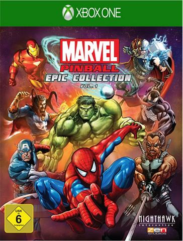 XBOX One - Spiel »Marvel Pinball...
