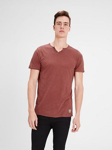 Jack & Jones Split-Neck- футболка