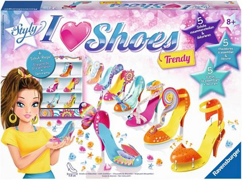 RAVENSBURGER Kreativset »So Styly I Love Shoe...