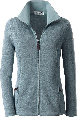 Флисовый пуловер с контрастный Umlegek...