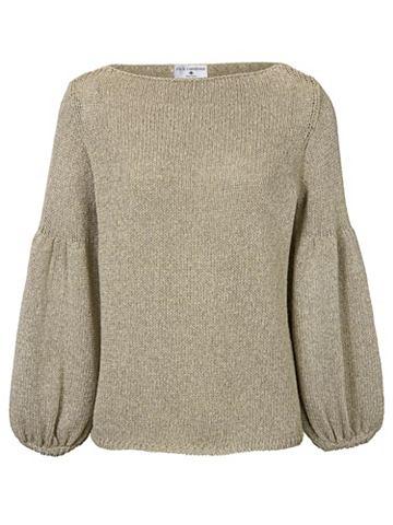 Пуловер с круглым вырезом Effektgarn