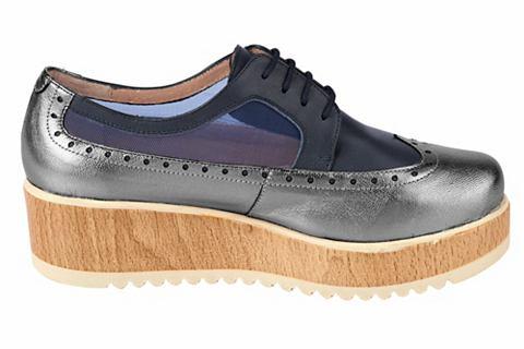 Туфли на шнуровке с Plateausohle