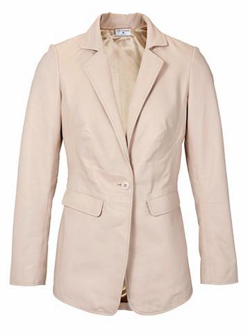 Пиджак кожаный с Reverskragen