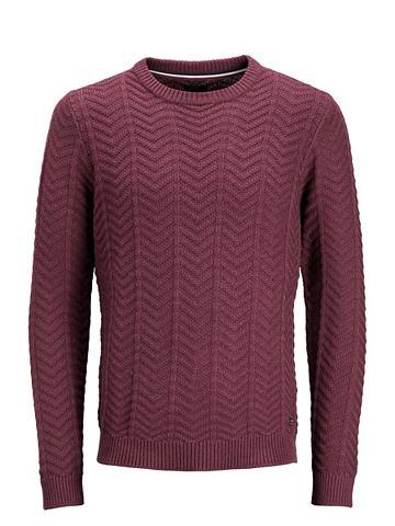 Rundhalsausschnitt- пуловер трикотажны...