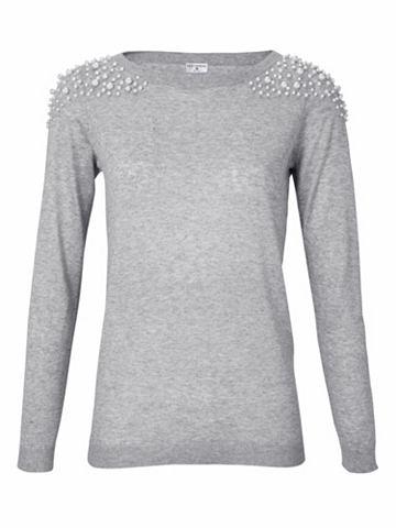 heine STYLE U-boot пуловер с украшением