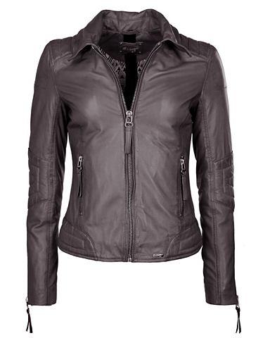 Куртка кожаная с воротник »Koga&...