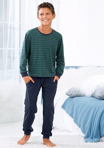 Le брюки пижама длинa