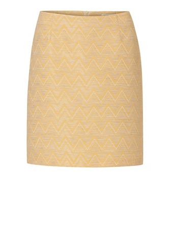 Betty&Co Gelber юбка в классически...