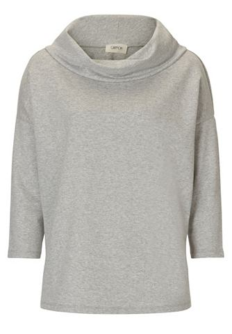 Пуловер с Широкий ворот
