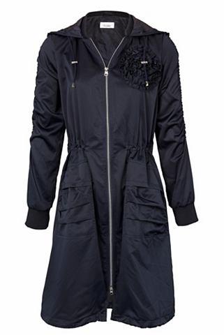 Куртка парка с Blütenapplikation