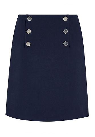 Ausgestellter юбка с пуговицы