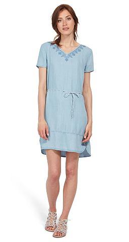 Платье »aus denim с Stickerei&la...