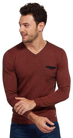 Пуловер трикотажный Свитер в Melange-o...