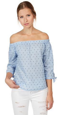Блузка-футболка »gemusterte Carm...