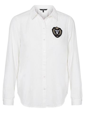 Классический рубашка с длинными рукава...