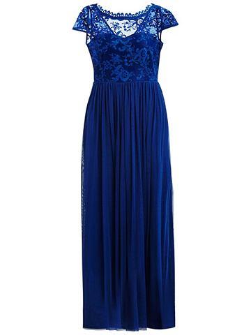 Женское Spitzen платье-макси длинное