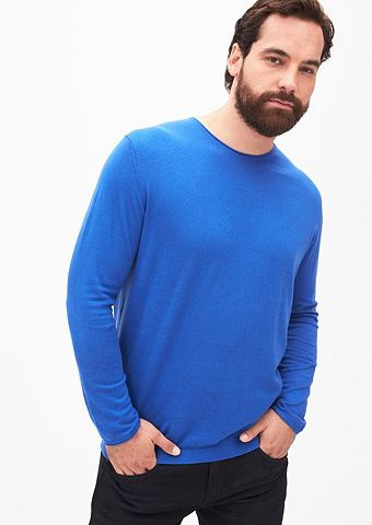 Пуловер с шелк