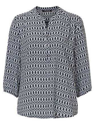 Блуза с графический узор