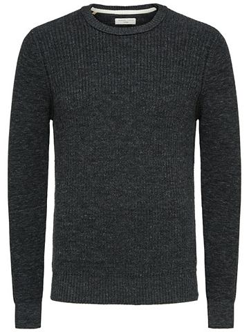Crew-Neck пуловер трикотажный