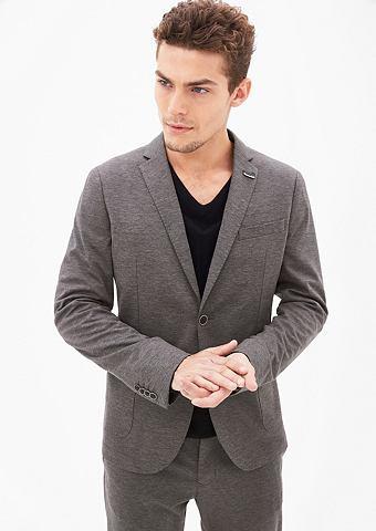 Спортивный стиль Suit: Темный пиджак к...