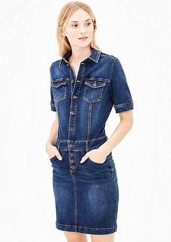 Stretchiges платье джинсовое