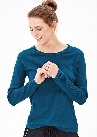 Пуловер с Zipper-Detail