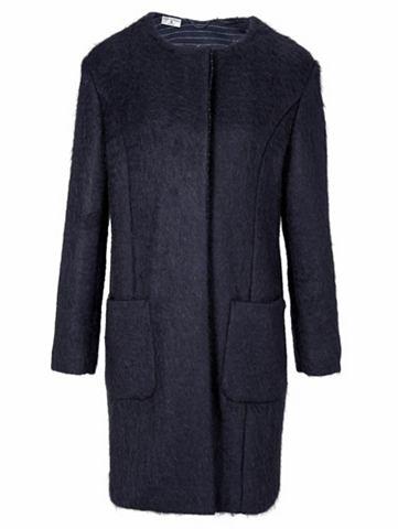 Пальто короткое с Mohair