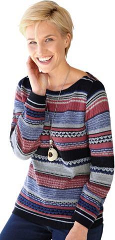 Пуловер в Streifen-Dessin