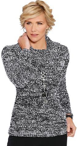 CLASSIC Пуловер в мягкий Bouclé-Qualit&...