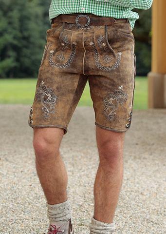 Брюки кожаные из национального костюма...