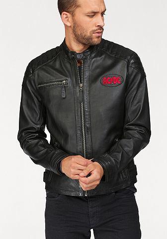 Куртка кожаная »AC/DC«
