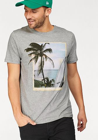 Jack & Jones футболка »HORIZ...