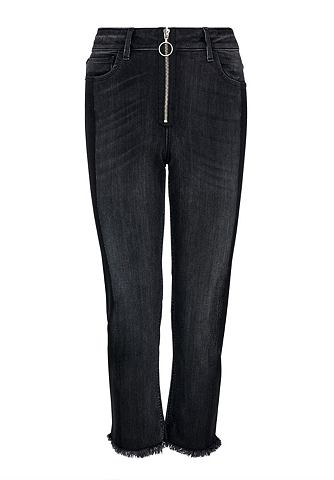 Loose-Fit 7/8 джинсы с Außenzipp...