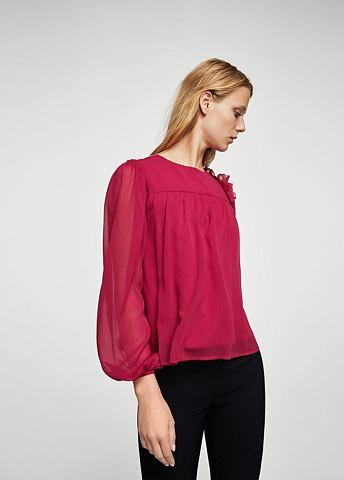 Блуза с Perlenverzierung