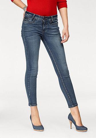 7/8 джинсы »Mit Fake-Zippertasch...