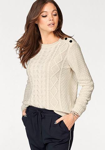 Пуловер с круглым вырезом »JULIA...