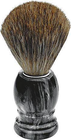 Щётка для бритья Dachshaar grau marmor...