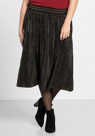 Klostuotas sijonas su Plisee-Falten