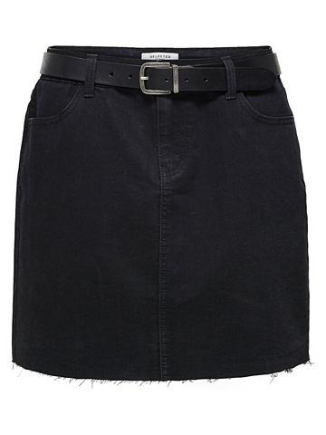 Узкий форма юбка джинсовая