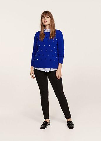 Пуловер с Kristallsteinen
