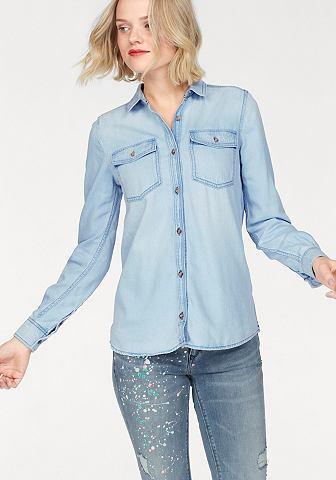 TOMMY джинсы джинсовая блузка