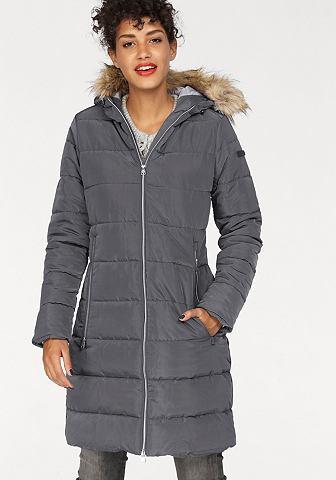 Куртка стеганая с капюшон