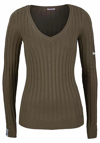 KANGAROOS Пуловер с V-образным вырезом