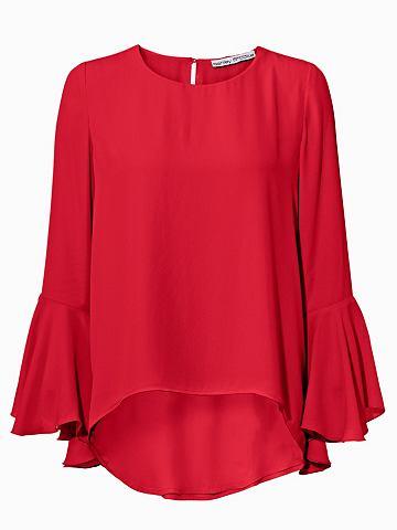 Блузка с круглым вырезом Ärmelvol...