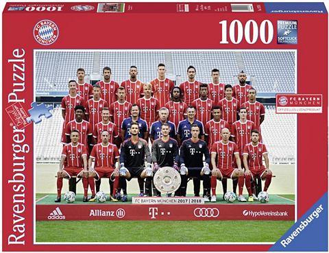 Пазл 1000 Teile »FC Bayern Saiso...