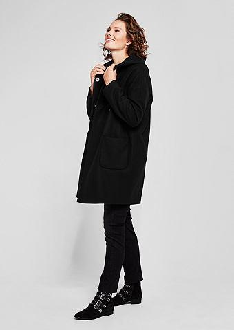 Пальто короткое с lässiger капюшо...